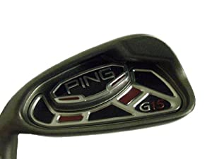 "Ping G15 7 iron Silver (Steel AWT Stiff, +1"") LEFT 7i Golf Club"