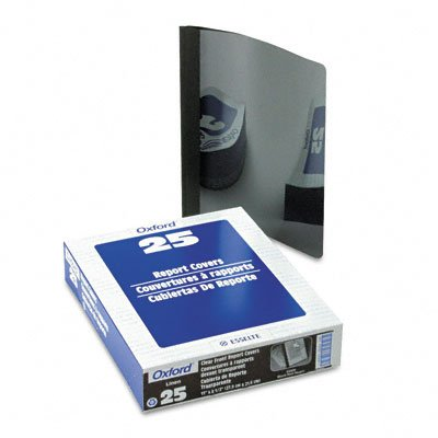 Clear front report cover, 3-prong, 1/2 capacity, black back cover, 25 per box - Buy Clear front report cover, 3-prong, 1/2 capacity, black back cover, 25 per box - Purchase Clear front report cover, 3-prong, 1/2 capacity, black back cover, 25 per box (Oxford, Office Products, Categories, Office & School Supplies, Binders & Binding Systems, Report Covers)