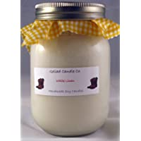 White Linen 16oz Hand Poured Soy Candle