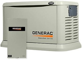 Generac 6729 20kW Air Cooled Generator w/Switch