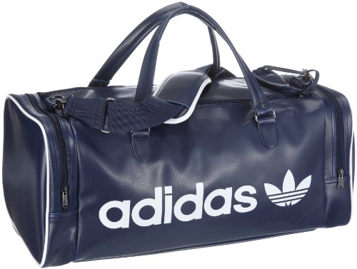 adidas originals ac teambag v87853 unisex erwachsene sporttaschen blau drkindigo wh. Black Bedroom Furniture Sets. Home Design Ideas