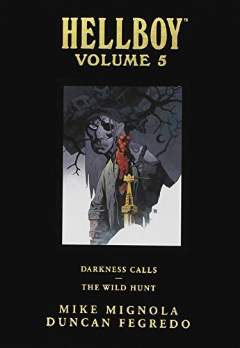 Hellboy Library Edition, Volume 5: Darkness Calls and The Wild Hunt by Mignola, Mike (2012) Hardcover