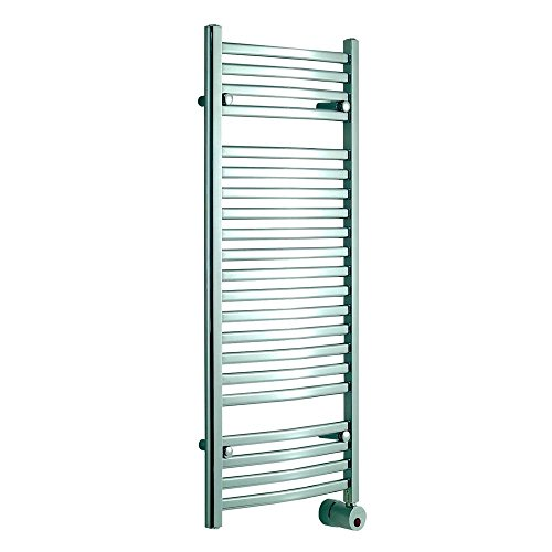 Mr. Steam W248PC Wall Mounted Towel Warmer (Polished Chrome) Curved