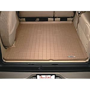 "Cargo Liner Land Rover LR3 /Behind 2nd seat (Does not fit with ""Optional Sliding Loadspace Floor"") 2005 2006 2007 2008 2009/Tan"