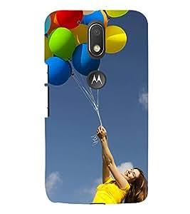 Colourful Balloon 3D Hard Polycarbonate Designer Back Case Cover for Motorola Moto G4 Plus :: Moto G4+