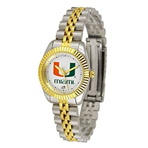 Miami Hurricanes NCAA Executive Ladies Watch by SunTime