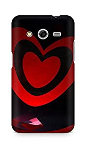 Amez designer printed 3d premium high quality back case cover for Samsung Galaxy Core 2 (Abstract Dark 27)