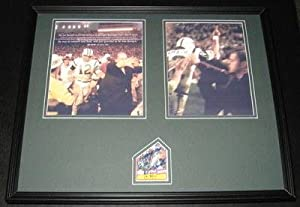 Autographed Joe Namath Photograph - Framed Super Bowl III 16x20 Set Alabama -... by Sports+Memorabilia
