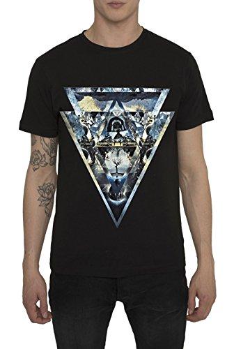 Camisetas-Hombre-de-Moda-Urbana-Fashion-Rock-Camiseta-Negra-con-Impresin-3D-Originales-NIRVANA-T-Shirt-con-Diseo-Grfico-100-Algodn-Cuello-Redondo-Ropa-Moderna-Casual-Verano-2016-para-Hombres