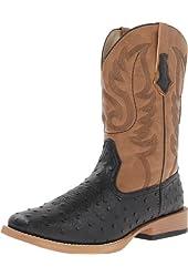 Roper Men's Basic Square Toe Western Boot