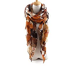 AngelShop Women Lily Printed Encryption Scarves Shawl BYWJ