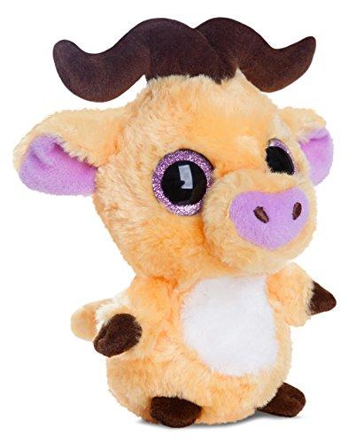 yoohoo-friends-pluschtier-buffel-kuscheltier-mit-glitzeraugen-ca-13-cm-im-set-mit-7ml-bodybutter