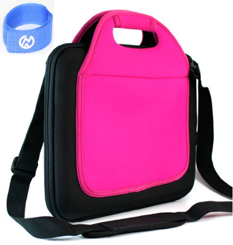 12 Inch Netbook Magenta Carrying Case with Pockets for Lenovo ThinkPad 42962W5 12.5