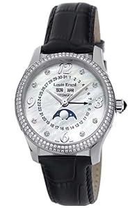 (靓女)诺时Louis Erard Women's 44204SE10.BDC02 1931月相钻石腕表特价$6355.12