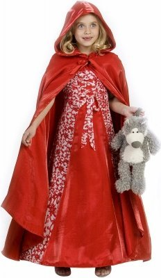 Princess Paradise 211910 Princess Red Riding Hood Child Costume Size: 6