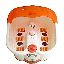 HealthIQ Foot Spa Footbath & Roller Massager For Feet Pain Relieve And Feet Care
