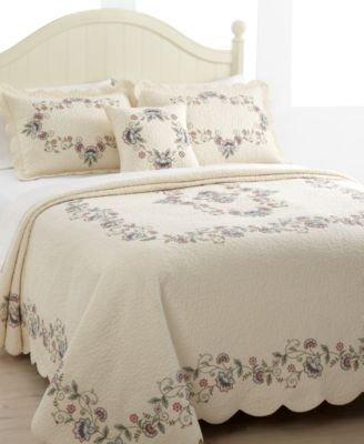"Nostalgia Home, Calantha Queen Bedspread 102"" X 118"" Blanket"