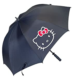 Hello Kitty Golf Ladies Diva Collection Tour Umbrella, Black by Hello Kitty