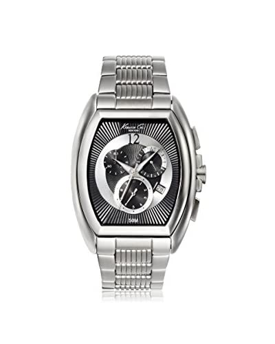 Kenneth Cole New York Men's KC9164 Classic Barrel Stainless Steel Watch