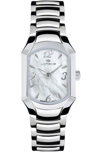 Lorenz 026763CC - Reloj , correa de acero inoxidable color plateado