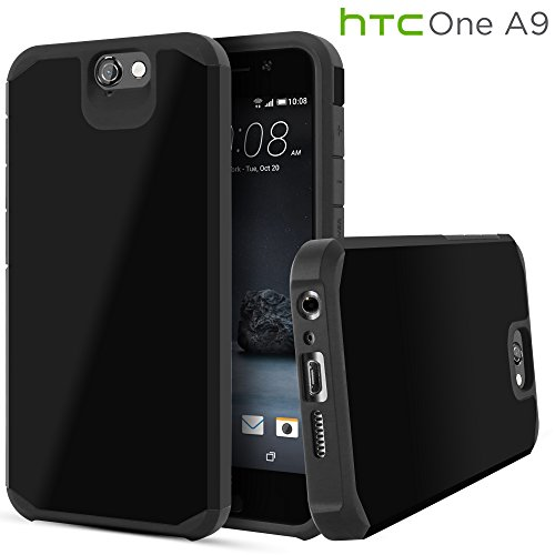 HTC One A9 Case, Celljoy [Liquid Armor] HTC One A9 2015 Release Model Case Slim Fit Dual Layer ProtectiveShockproof Hybrid Reinforced BumperImpact Resistant Case – Thin Hard Cover
