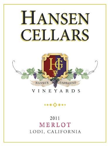 2011 Hansen Cellars Merlot 750 Ml