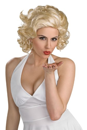 Marilyn Monroe Wig Blonde Licensed Secret Wishes Wig 51799