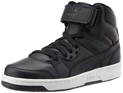 Puma Puma Rebound Street L, Unisex-Erwachsene Hohe Sneakers, Schwarz (black-black 02), 44 EU (9.5 Erwachsene UK) thumbnail