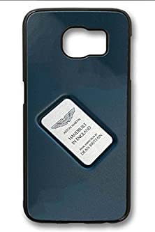buy S6 Case,Hard Shell Plastic Pc [Black] Cover Snugly Sleek Slim Light Weight Frosted Colorful Vibrant Fit Headphones Port Oil Water Proof Samsung Galaxy S6-Aston Martin Vantage Symbol