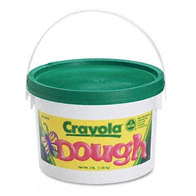 o Crayola o - Reusable Modeling Dough, 3lb in Airtight Container, Green
