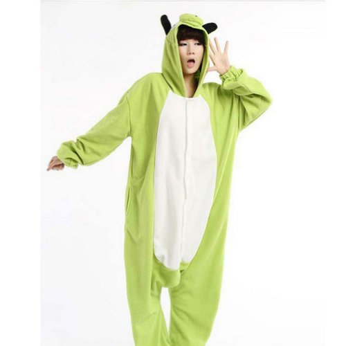 Green Pig Cosplay Halloween Costumes For Women Adults Pajamas