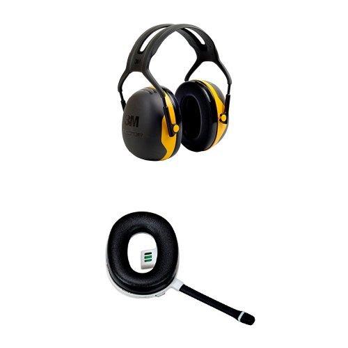 3M Peltor X2A Earmuffs (NRR 24 dB) with Peltor Wireless Communication Accessory (67137)