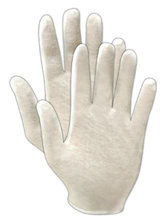 Magid TouchMaster 651J Cotton Lisle Inspection Glove, Men's Jumbo (Pack of 60 Pairs)