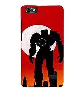 EPICCASE Robot man Mobile Back Case Cover For Xiaomi Redmi Mi4c (Designer Case)