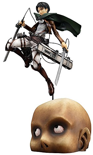 Good Smile Attack on Titan: Levi 1:8 Scale PVC Figure