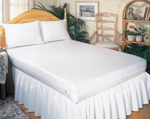 Mattress Protector-Zippered- Full 54 X75 X9 - World Wide Shipping front-734236