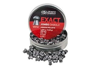Jsb Match Exact Jumbo Diabolo Pellets .22 Cal 15.89 Grains Domed 250Ct
