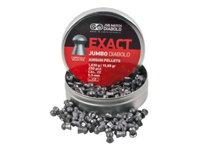 Jsb Match Exact Jumbo Diabolo Pellets .22 Cal 15.89 Grains Domed 250Ct