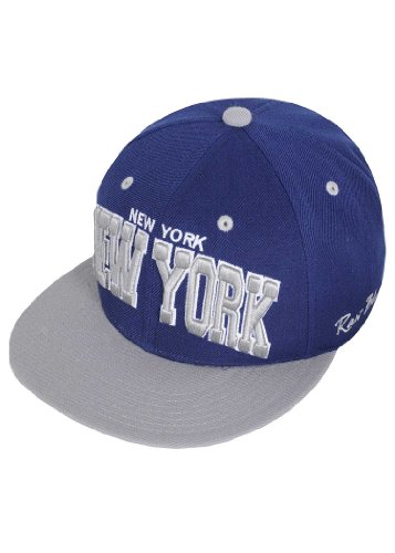 Raw Blue Cap City Snapback New York RBC1300 navy blau grau