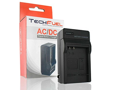 Techfuel Nb-6L Battery Charger For Canon Powershot D10, D20, S90, S95, Sd1200 Is, Sd1300 Is, Sd3500 Is, Sd4000 Is, Sx260 Hs, Sx500 Is, Sx510 Hs, Sx520 Hs, Sx600 Hs, Sx700 Hs; Replaces Canon Cb-2Ly Charger