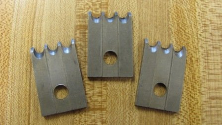 "Corob Molding Knife: #23 3 Bead 1/4"""