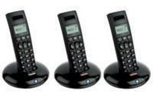 BT Graphite 1100 DECT Telephone Trio Black images