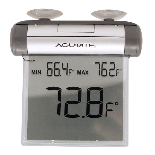 Chaney Instrument Outdoor Large Digital Window Thermometer