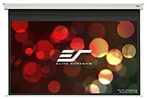Elite Screens Evanesce B Series, 100-inch Diagonal 16:9, In-Ceiling Electric Projection Screen with 12-inch Drop, EB100HW2-E12