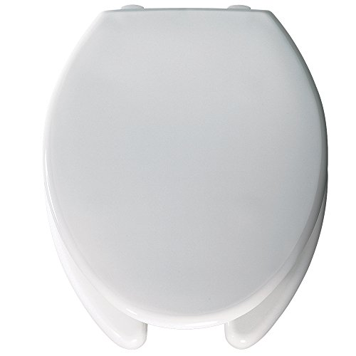 Bemis Raised Toilet Seats Medic Aid Plastic 2 Inch Lift Open Front With Cover
