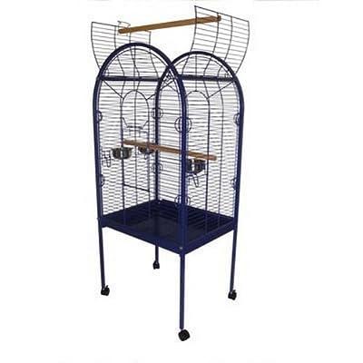 Lazy Bones Blue Open Top Parrot Cage