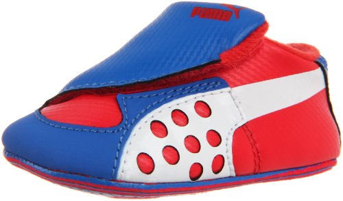 Puma Crib Pack Faas Crib Shoe (Infant/Toddler),High Risk Red/White/High Risk,4 M US Toddler