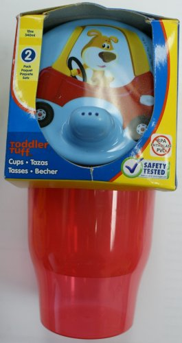 Little Tikes BPA PVC FREE 2 sippy cups - 12 oz - 1