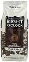 Eight O'Clock Coffee, 100% Columbian Whole Bean, 40-Ounce Package from Eight O'Clock Coffee
