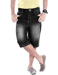 Uber Urban Mens Regular Fit Non Lycra Denim Shorts 5